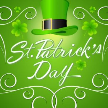 Celebrate St Patricks Day, Saturday 14th March, 9pm – LIVE MUSIC