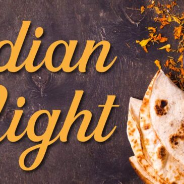 Thursday 19th September Indian Night FULLY BOOKED