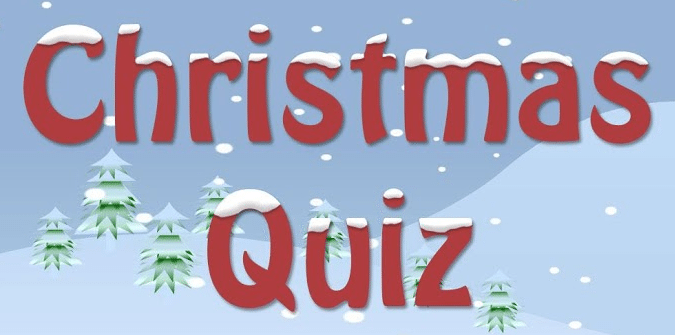 Christmas Charity Quiz Monday 9th December
