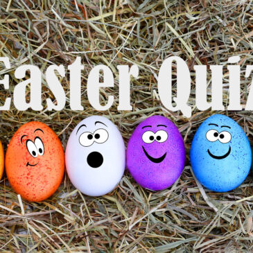 Charity Quiz Night, Monday 13th April